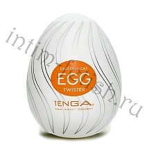 Tenga Egg Twister, одноразовый мастурбатор с рельефом
